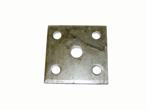 5 HOLE U BOLT SPRING MOUNTING PLATE 50MM