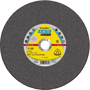 KLINGSPOR A46 TZ Special Cutting Disc 230mm X 1.9mm X 22mm