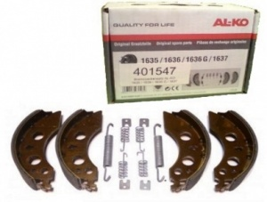Genuine Al-ko 160 X 37mm Brake Shoe Axle Set