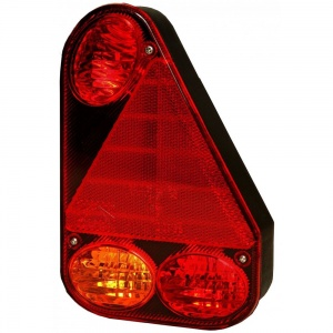 ASPOCK Earpoint III Right Hand Rear Combination Trailer Light with Fog