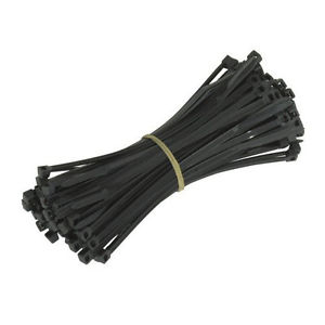 Cable ties, pack of 100 - 4.5mm x 300mm