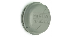 Ifor Williams 76mm Grey Dust Cap (p1258)