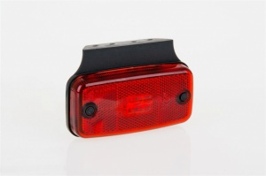 LED red marker with bracket . 4 x leds.12/24v (ft019ck)