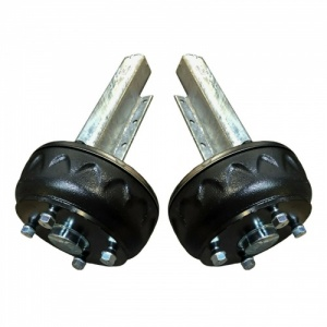 1300kg Knott Avonride braked Suspension Units - 5.5 inch PCD