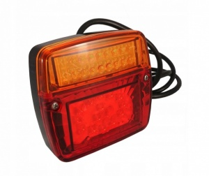 Led Tail Lamp 12/24v Made in Europe