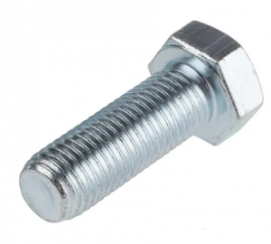 M16 X 45 HIGH TENSILE BOLT GRADE 8.8 ZINC PLATED