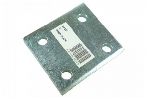3 inch drop plate, zinc plated (mp231)