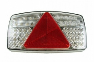 Led  Rear Combi lamp S/T/I/Fog/Rev/Reflex.10-30v - R/H (mp8603R)