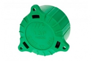 Green cap for 8/13 pin plastic plugs (mp1280)