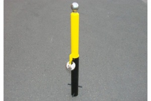 REMOVABLE TRAILER HITCH SECURITY POST MP9735