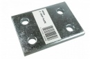 2 inch drop plate, zinc plated (mp230)