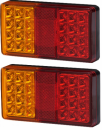 LED Rear Combination Lamps - Pack of 2