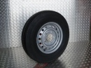 GT Radial 6.50 x 16 trailer tyre/wheel assembly