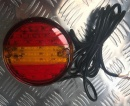 Led Hamburger lamp - Slim Design 10-30v. 3m cable