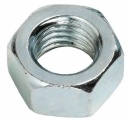 M16 HEXAGON STEEL FULL NUT ZINC PLATED DIN 934