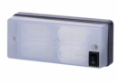 Led compact interior lamp with switch 350LM