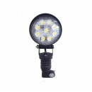 27 Watt Round LED Work Light - Pole Mount (lg863)