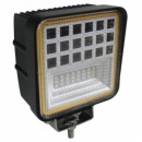 LG867 49 Watt Work Light With Angel Eyes