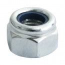 M16 NYLOC NUT STEEL ZINC PLATED, TYPE P