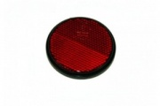 Round Red Reflector - Self Adhesive (mp854ssb)