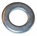 M8 MILD STEEL FORM A FLAT WASHER  ZINC PLATED